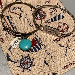 Set of Two Plunder Bracelets